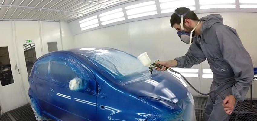 Auxiliar Pintor de Vehículos